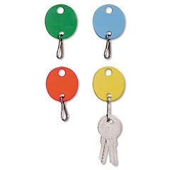SteelMaster® Oval Snap-Hook Key Tags Thumbnail