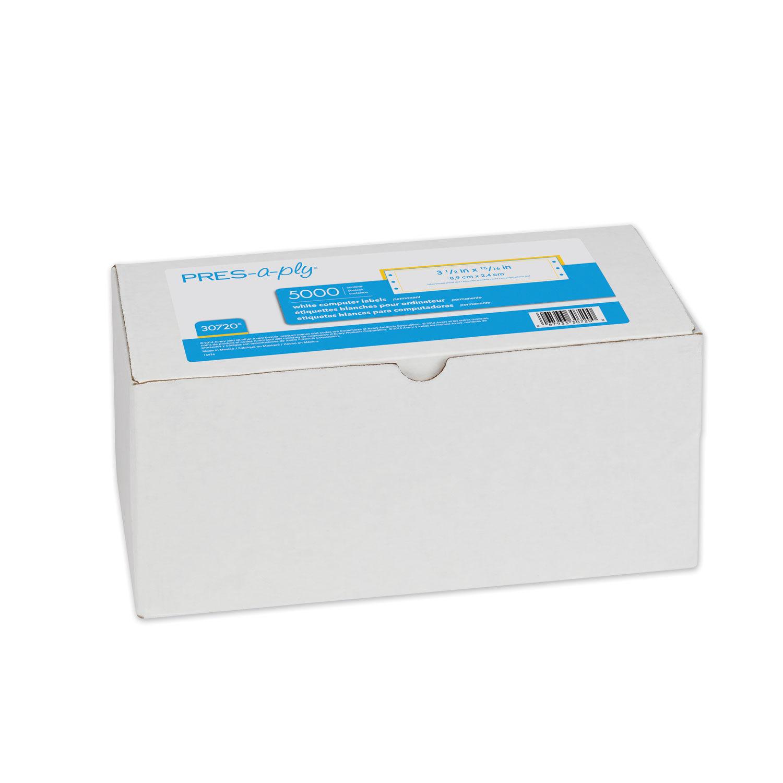 Printing Saver 11354 57 x 32 mm Compatible /Étiquettes Multi-usages 1000 /Étiquettes par Rouleau pour Dymo LabelWriter 310 320 330 4XL 400 450 Turbo//Twin Turbo//Duo /& Seiko SLP Etiqueteuses
