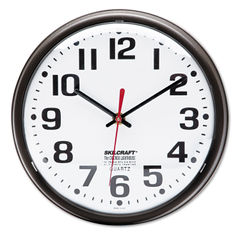 AbilityOne® SKILCRAFT® Slimline Quartz Wall Clock Thumbnail