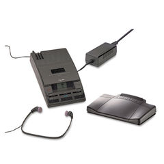 Philips® 720-T Desktop Analog Mini Cassette Transcriber Dictation System Thumbnail