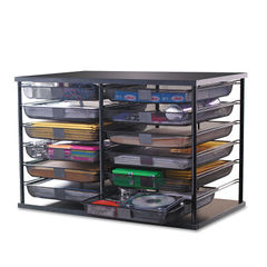 Rubbermaid® 12-Compartment Organizer with Mesh Drawers Thumbnail