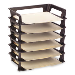Rubbermaid® Regeneration® Recycled Plastic Letter Tray Thumbnail