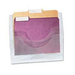 Rubbermaid® Optimizers™ Multifunctional Three-Pocket File Folder Organizer Thumbnail