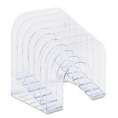 Rubbermaid® Optimizers™ Multifunctional Six-Tier Jumbo Incline Sorter Thumbnail