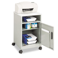 Safco® Steel Machine Stand with Open Storage Compartment Thumbnail