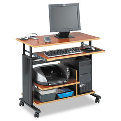 "Safco® Muv™ 28"" Adjustable-Height Mini-Tower Computer Desk Thumbnail"