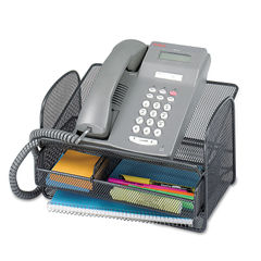 Safco® Onyx™ Mesh Telephone Stand Thumbnail