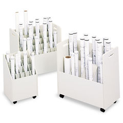Safco® Laminate Mobile Roll Files Thumbnail