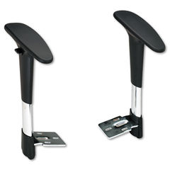 Safco® Optional Height-Adjustable T-Pad Arms for Safco® Metro™ Extended Height Chair Thumbnail
