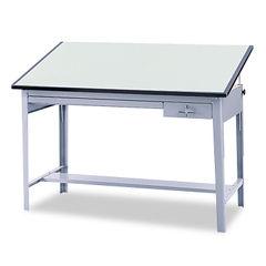 Safco® Precision Four-Post Drafting Table Base Thumbnail