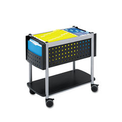Safco® Scoot™ Open Top Mobile File Cart Thumbnail