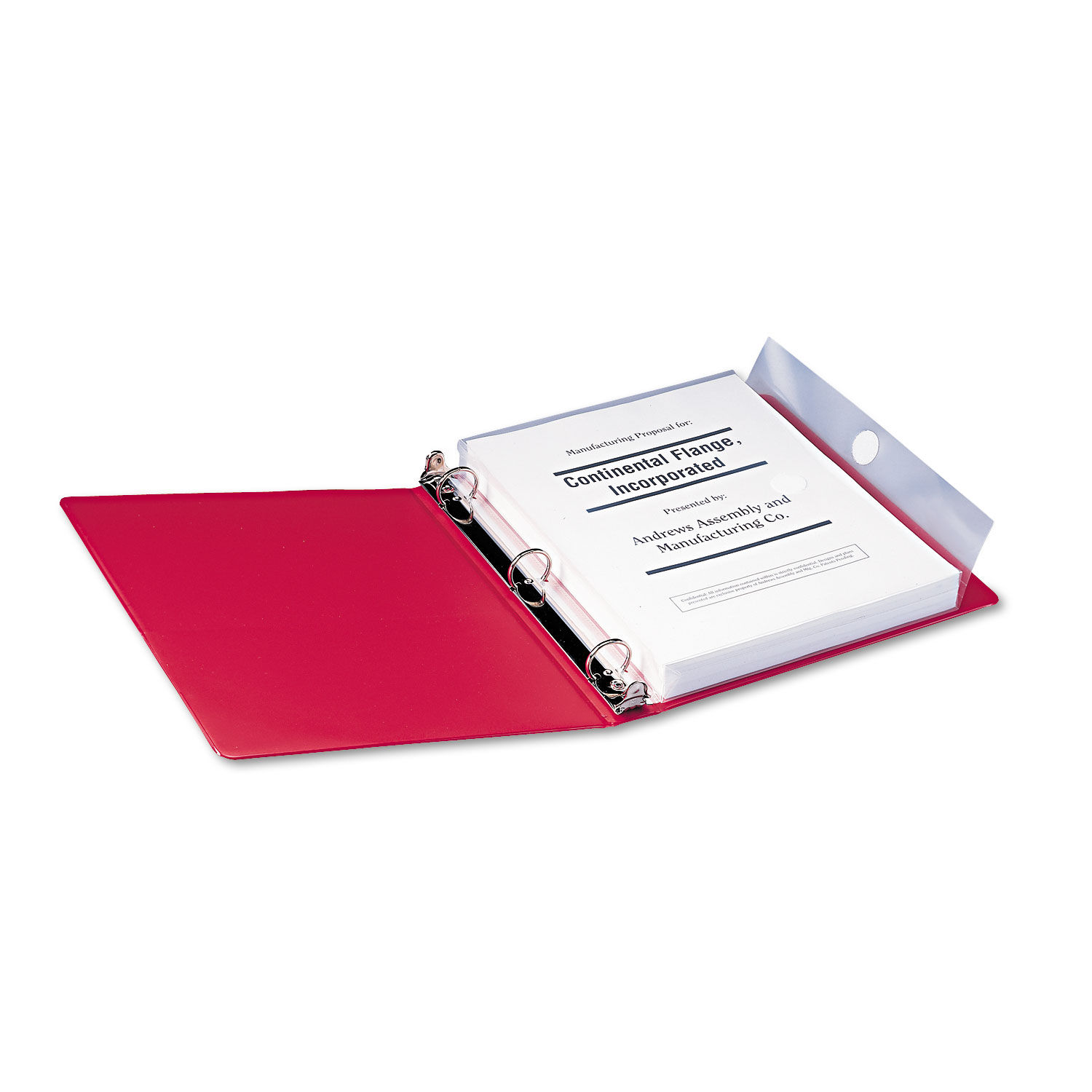 Poly Ring Binder Pockets By Smead® SMD89500