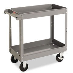 Tennsco Two-Shelf Metal Cart Thumbnail