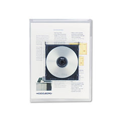 Universal® Transparent Deluxe Locking Project Files with CD-ROM Holder Thumbnail
