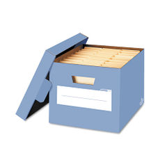 Locking Lift-Off Lid File Storage Boxes