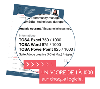 Certification TOSA