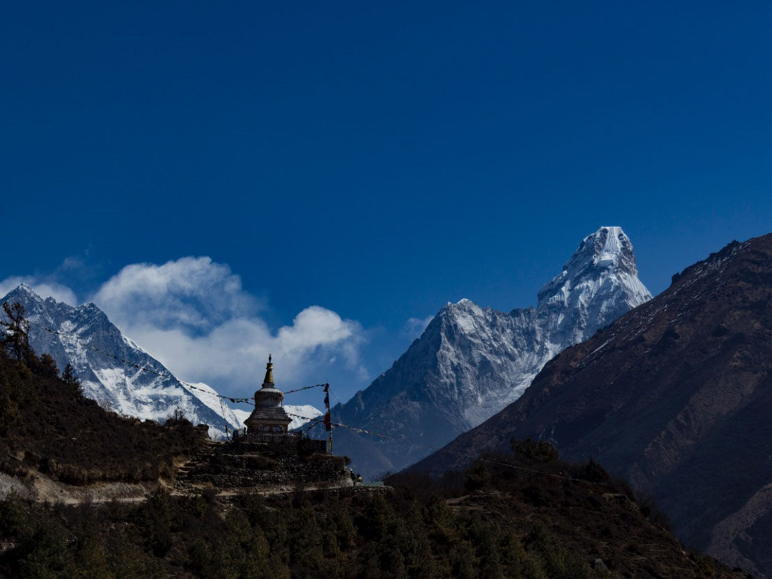 Everest Base Camp via Cho La