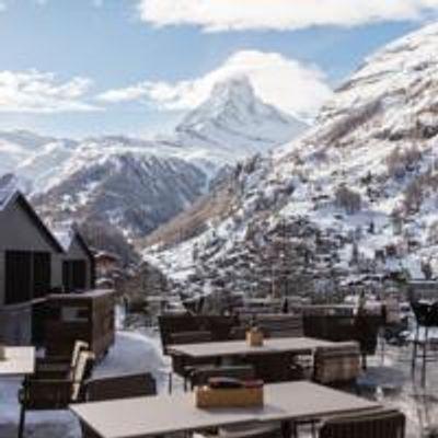 Terrace view winter