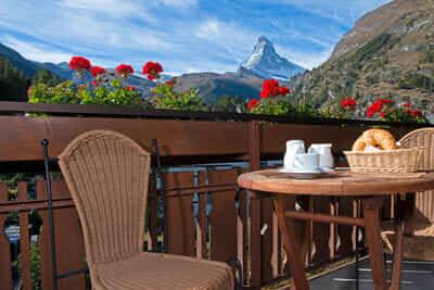 Südbalkon mit Matterhornblick