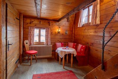 hall d'entrée cabane