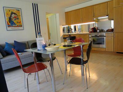 cuisine - salle séjour