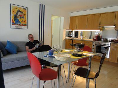 cuisine - salle de séjour