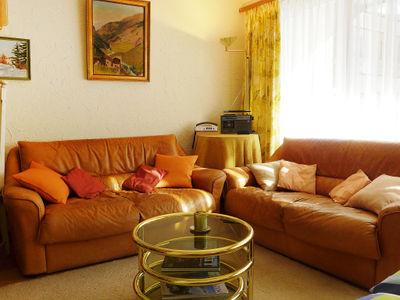 Living and sleeping area