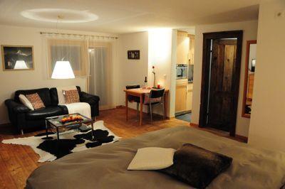 salon et chambre à coucher