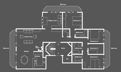 Floor plan Guggenbiel 8