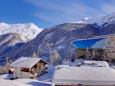 Haus Alpsegen at Furi above from Zermatt