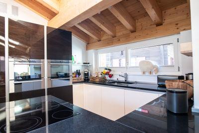 Optimal ausgestattete Küche