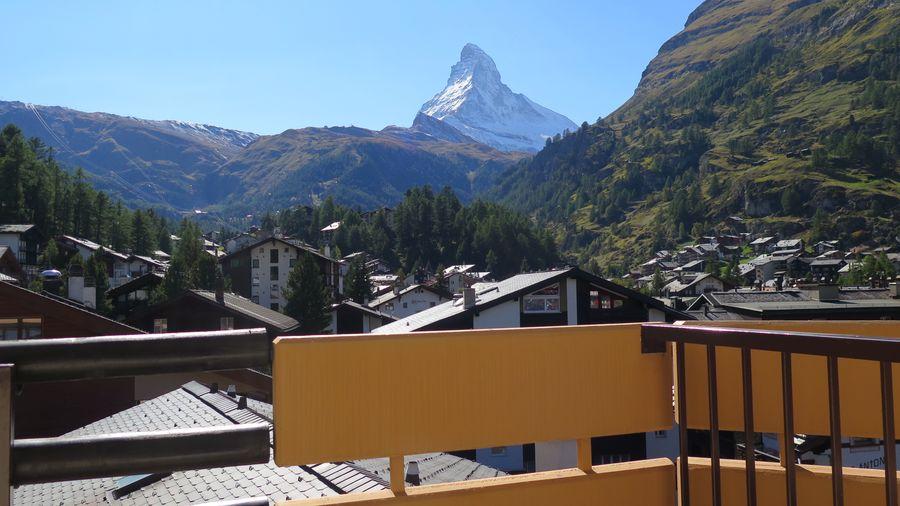 Aussicht auf's Matterhorn