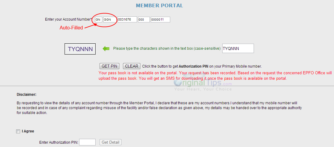 EPF Withdrawal India Online