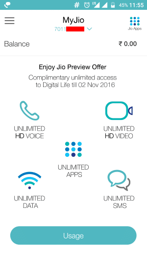 Enjoy 90 Days Preview Offer Complimentary Access to Jio Services