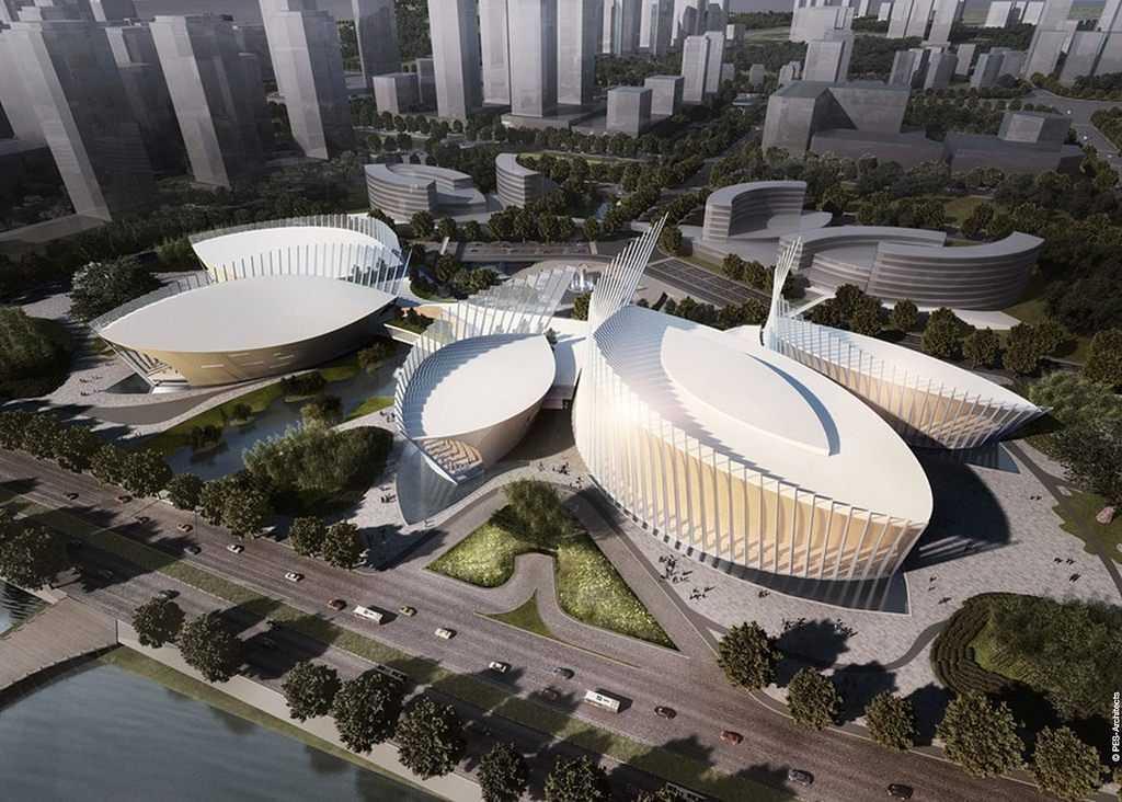 Fuzhou strait and art centre