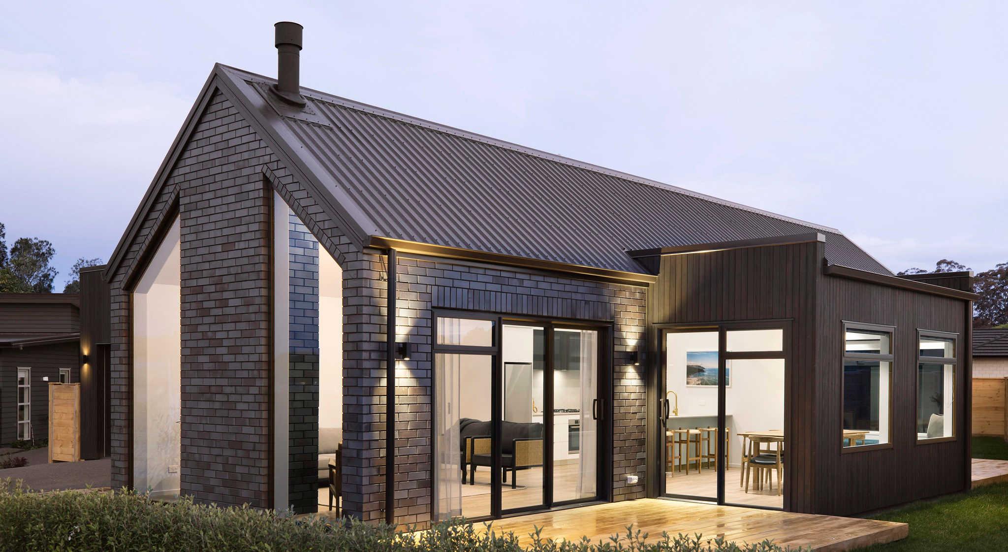 A Kiwi developer's brick show home embodies their unique approach