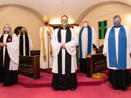 The licensing of Rev'd Jan Nobel as Priest-in-charge of St Thomas's Church Osbaldwick and St James's Church Murton