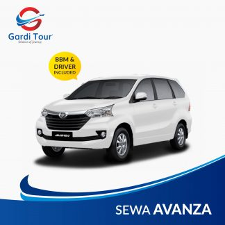 Sewa Avanza Transfer In / Out Bandara Soekarno Hatta
