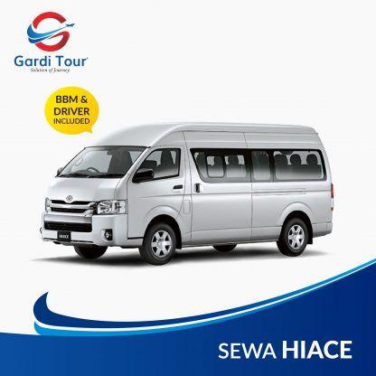 Sewa Mobil Hiace 16 Seat Jakarta