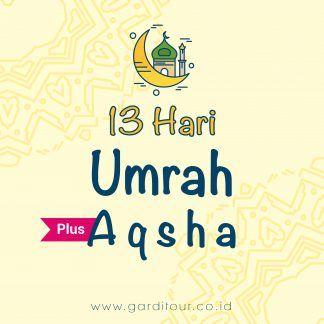 13 Hari Umrah Plus Aqsha