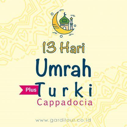 13 Hari Umrah Plus Turki