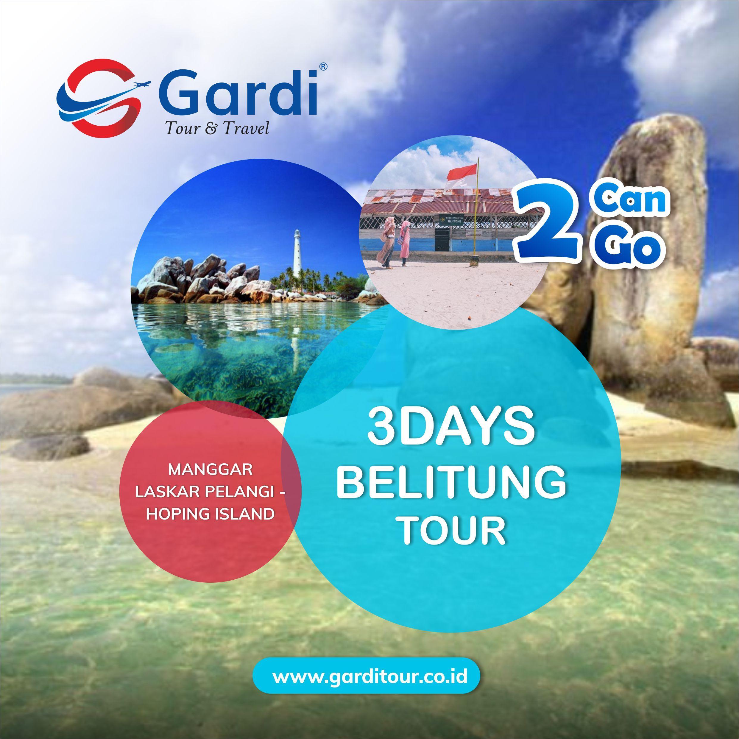 03 Days Belitung Tour Gardi Tour