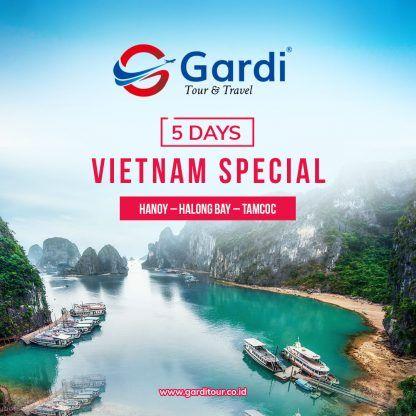 5D Vietnam Special - Gardi Tour