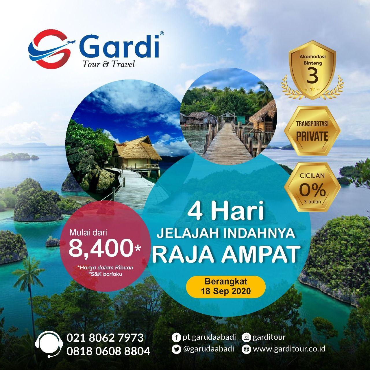 Beautiful Tour In Raja Ampat Gardi Tour