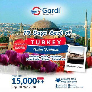 Paket Tour Turki 2020