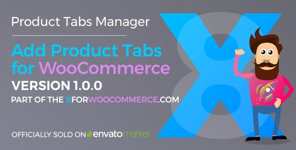 Add Product Tabs for WooCommerce v1.4.1