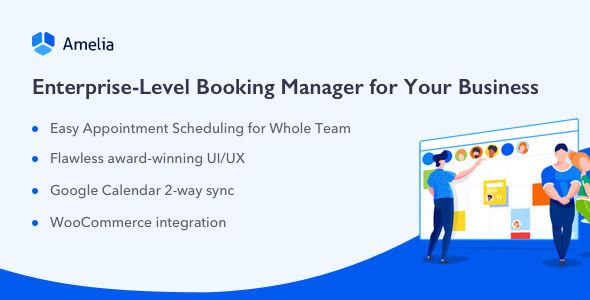 Amelia v3.1 - Enterprise-Level Appointment Booking