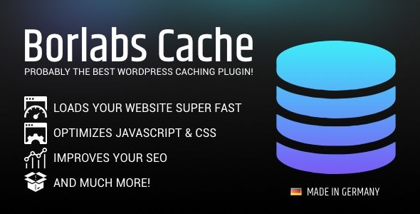 Borlabs Cache v1.6.3 - WordPress Caching Plugin