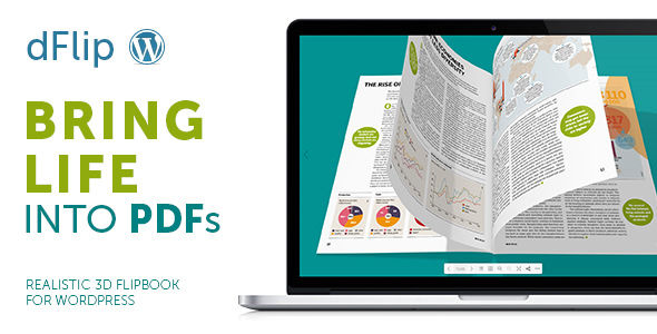dFlip v1.7.51 - PDF FlipBook WordPress Plugin