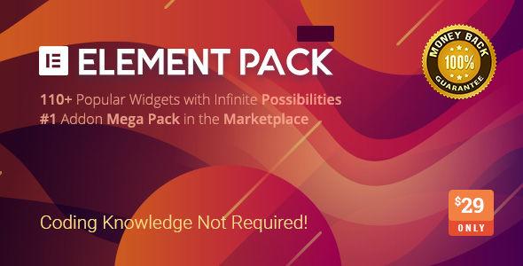 Element Pack v5.7.5 - Addon for Elementor Page Builder
